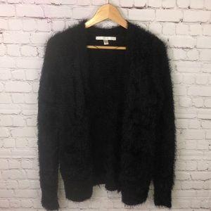 LC Lauren Conrad black oversized sweater